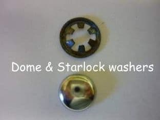 Dome & spring washers